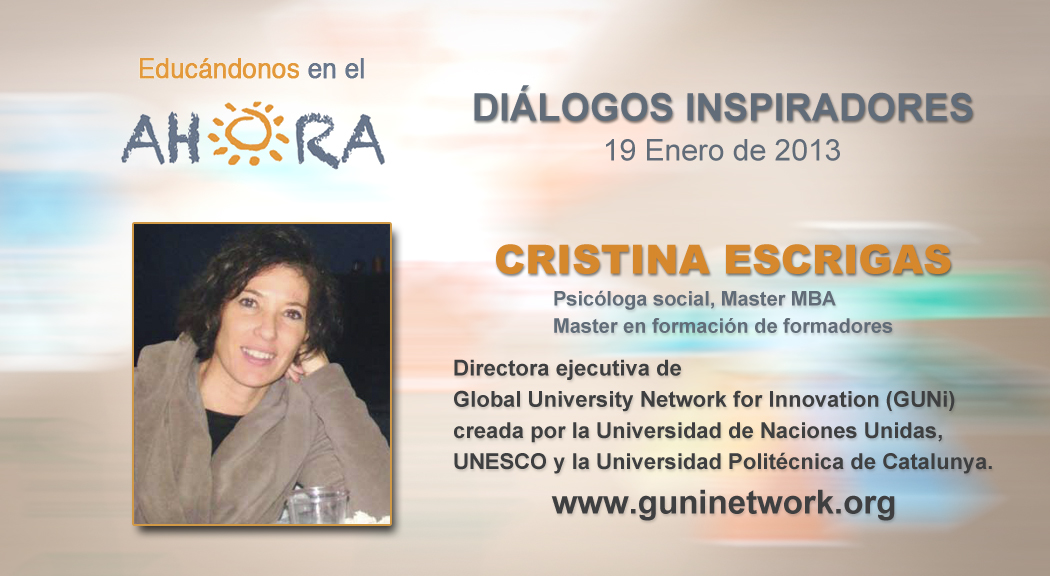 Cristina Escrigas – Global University Network for Innovation (GUNi)