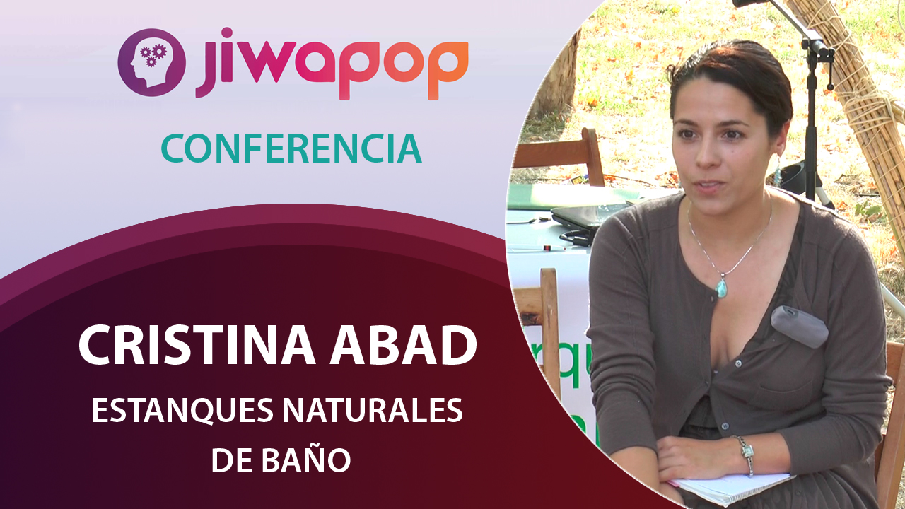 Estanques naturales de ba o cristina abad conferencia for Estanques naturales